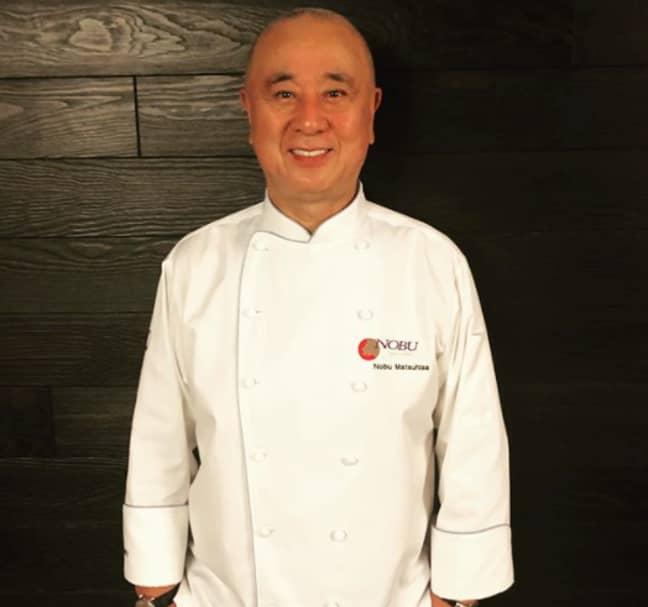 Chef Nobu Matsuhisa. Credit: Nobu/Instagram