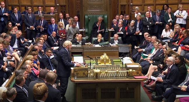 MPs in the Commons voted against Johnson's calls for a snap general election. Credit: PA