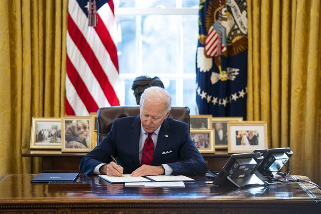 Joe Biden is set to sign an executive order reversing Donald Trump's anti-abortion policy. Credit: PA