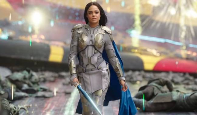 Valkyrie is in Thor: Love and Thunder (Credit:Twitter/loveandthundernews)