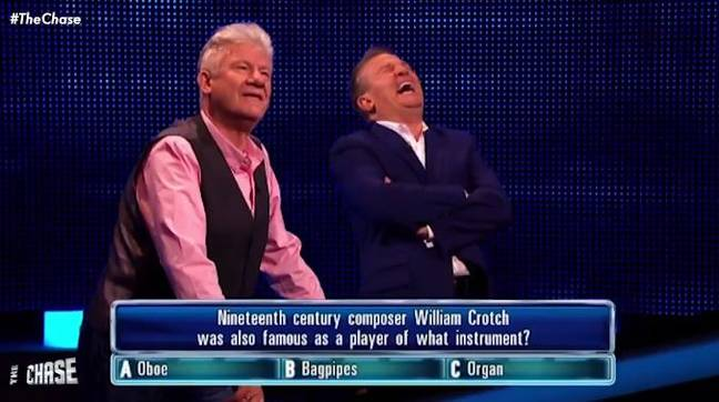 The Chase can sometimes be a bit naughty. Credit: ITV/The Chase