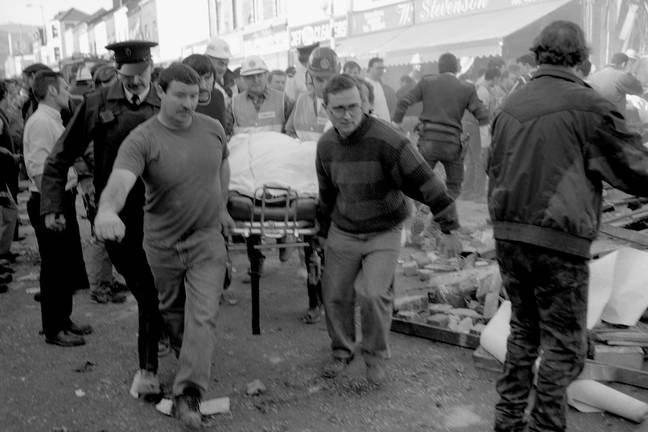 Injuries sustained in the Troubles