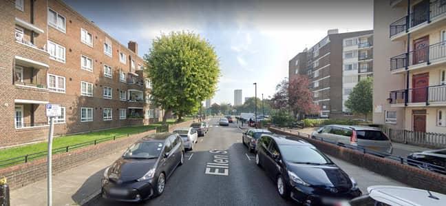 Ellen Street, Whitechapel. Credit: Google Maps