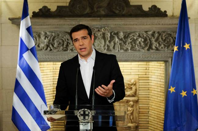 Greek Prime Minister Alexis Tsipras. Credit: PA