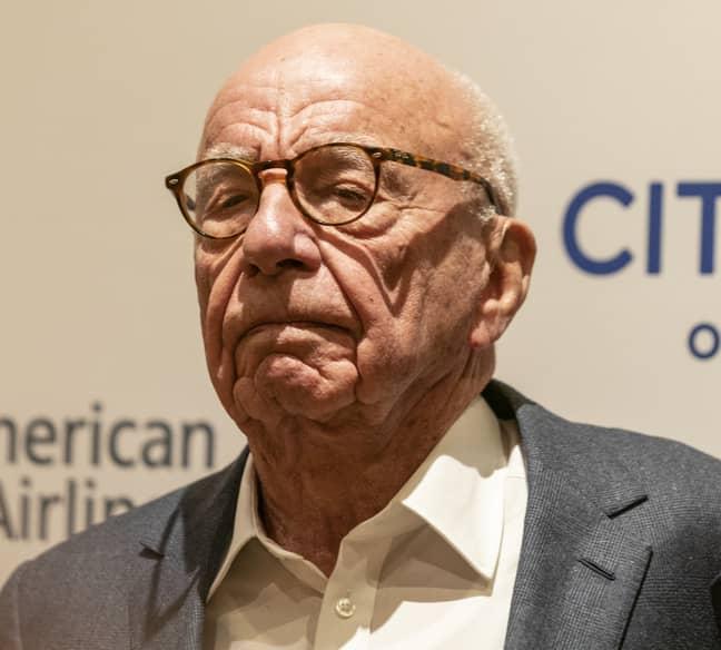 Rupert Murdoch. Credit: PA