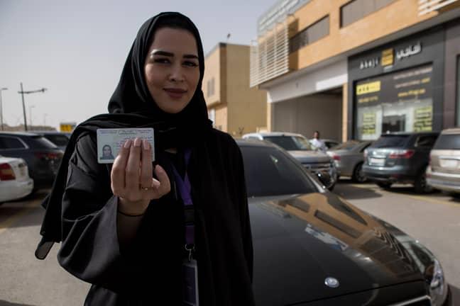 Women can now drive in Saudi Arabia. Credit: PA