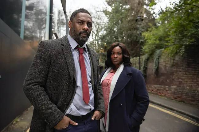 Elba said the Luther movie will begin filming in September. Credit: BBC