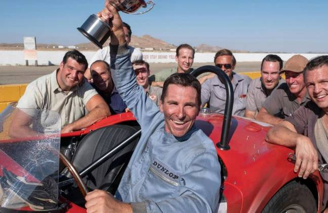 Bale stars in racing drama Le Mans '66 about two friends who must overcome adversity to make history. Credit: 20th Century Fox