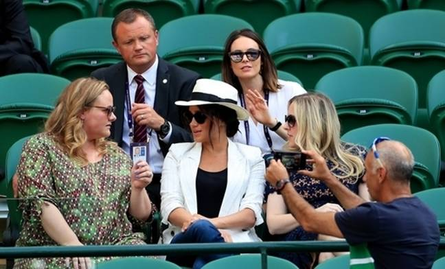 Mr Hasan was asked to give the Duchess 'privacy'. Credit: PA