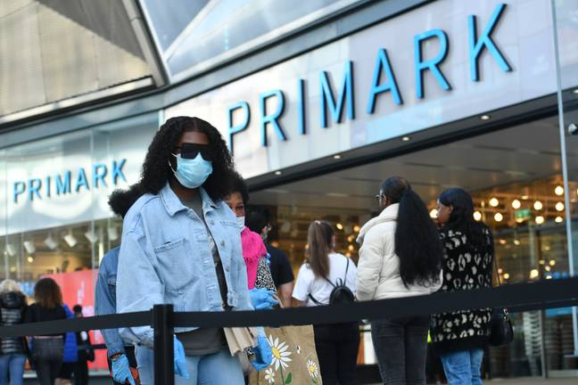 Shoppers and staff are required to wear PPE. Credit: PA