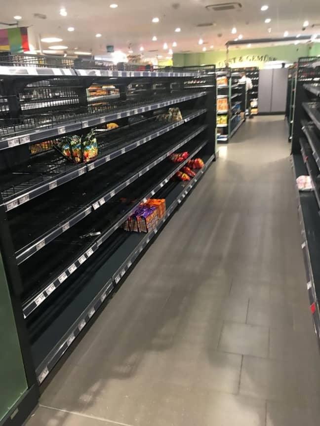 German supermarket