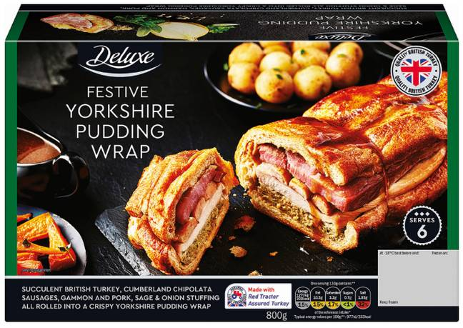 Lidl has launched its own take on the Christmas dinner wrap. Credit: Lidl