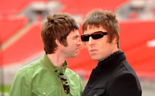 Noel and Liam Gallagher. Credit: PA