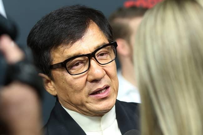 Jackie Chan. Credit: PA