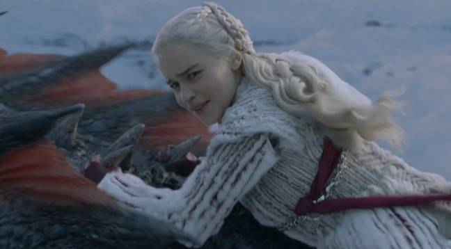 Daenerys is an old hand at this sort of thing by now. Credit: HBO
