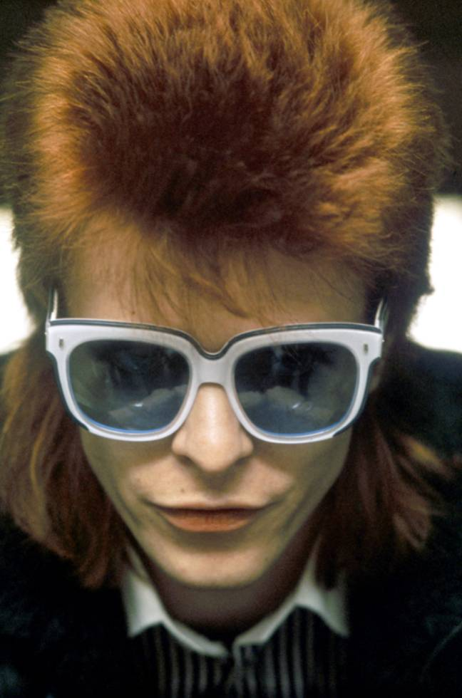 David Bowie in 1974. Credit: PA