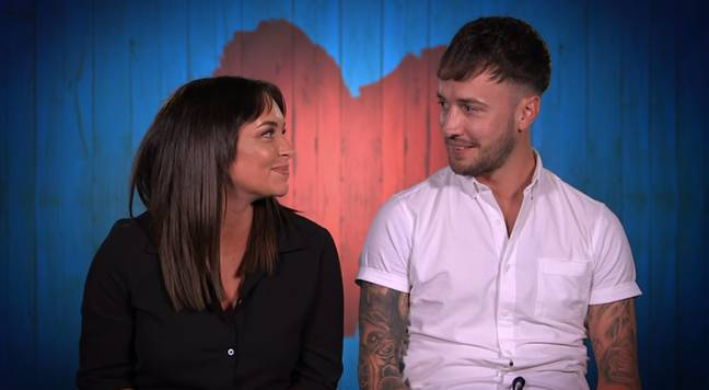 Rachael originally went on a date with Blain. Credit: Channel 4