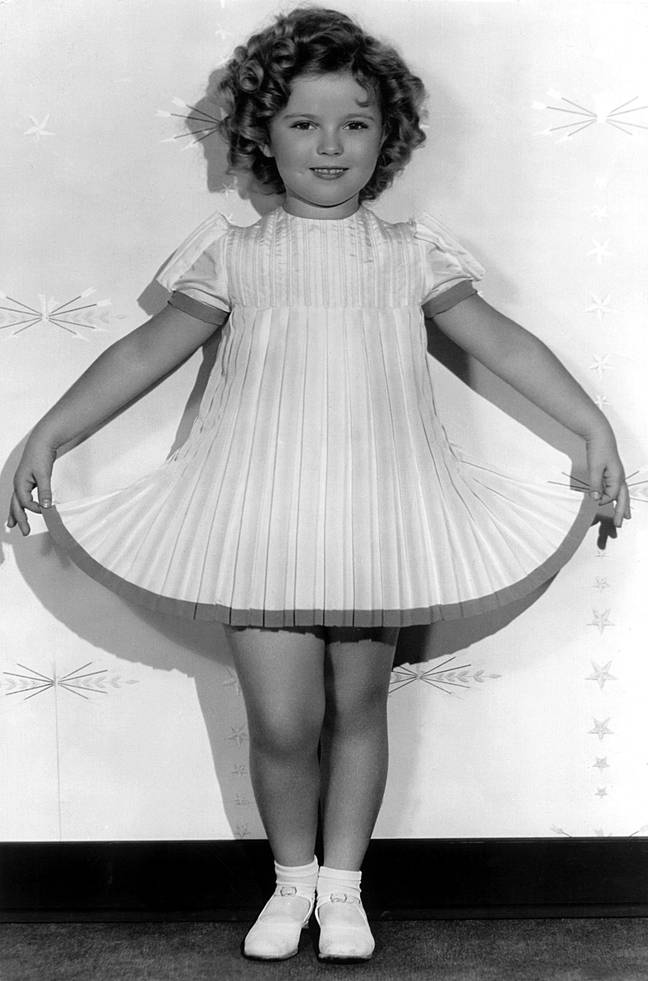 Shirley Temple (Credit: PA)