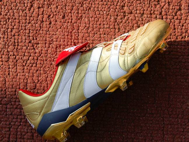 The 25 Years of Predator boots are things of beauty. Credit: adidas