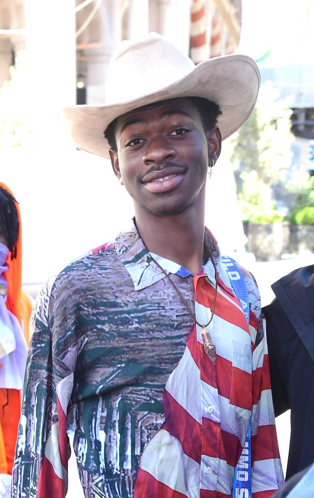 Lil Nas X combines country music with rap Credit: PA Images