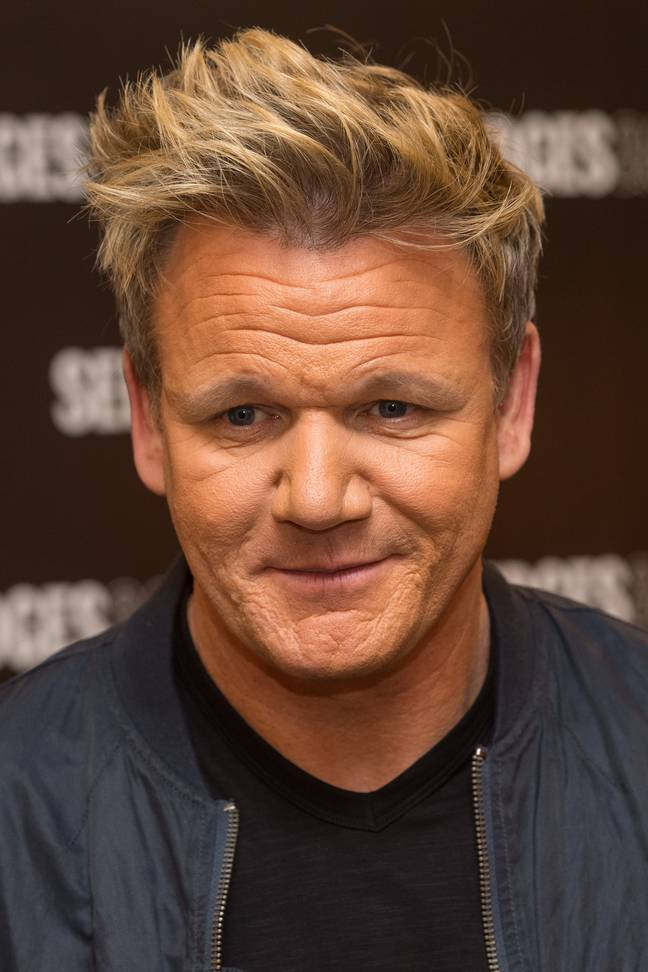 Gordon Ramsay likes a tuna sweetcorn sandwich with salt and vinegar crisps on the side - pass it on. Credit: PA