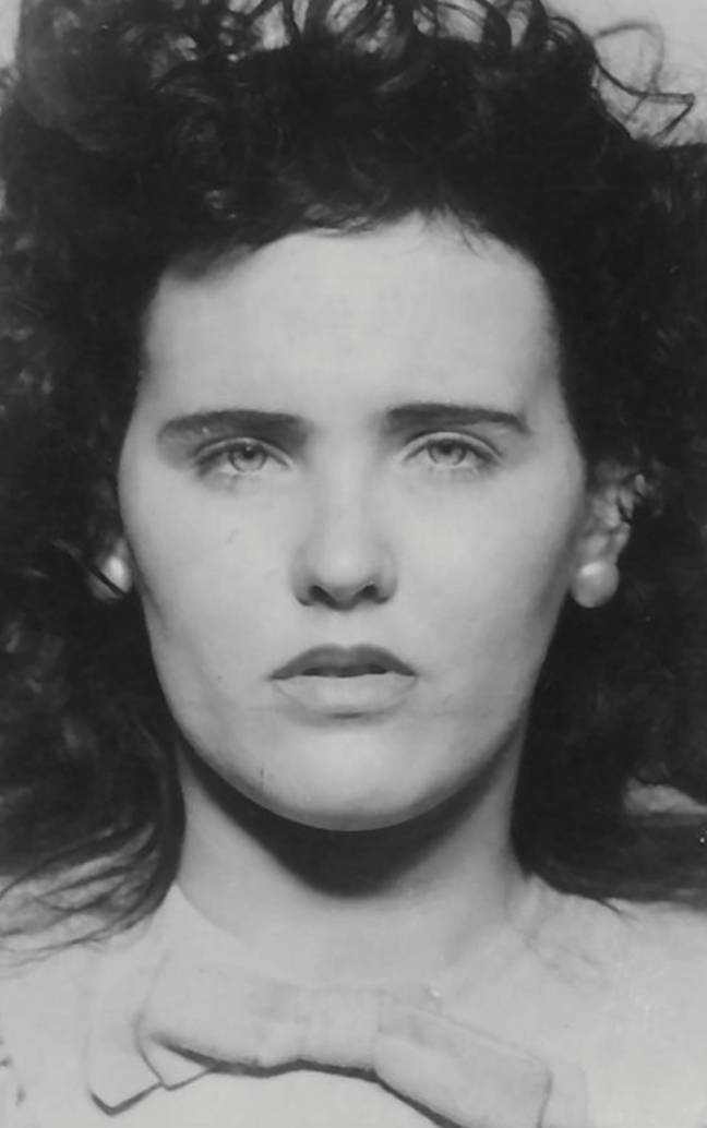 Elizabeth Short was allegedly seen drinking at the Cecil Hotel days before she was murdered. Credit: LAPD