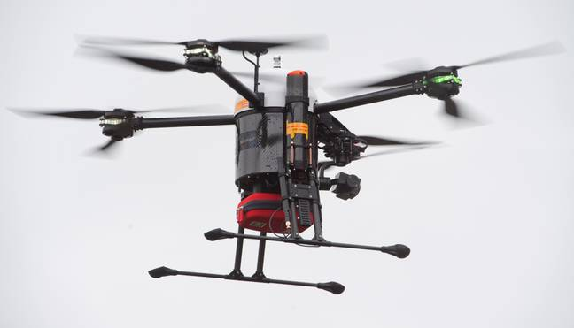 Aldo Kane says drones can be a force for good, despite some of the negative uses. Credit: PA