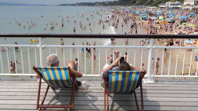 Revellers have been enjoying the Bank Holiday sunshine. Credit: PA