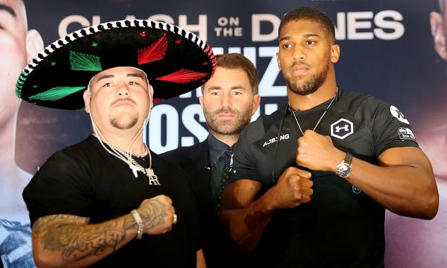 Joshua needs to get past Ruiz before he can taken on Fury. Credit: PA