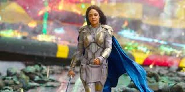 Tess Thompson as Valkyrie in Thor: Ragnarok. Credit: Marvel