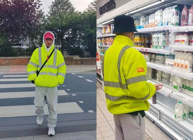 ASOS Are Also Selling A Oversized Hi Vis Fleece Jacket Neon Yellow. Credit: ASOS