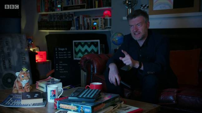 Charlie Brooker's Antiviral Wipe aired last month. Credit: BBC Two