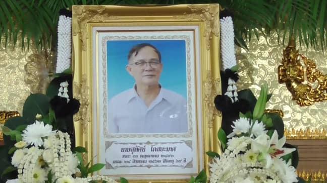 The victim was Suthat Kosayamata. Credit: Viral Press