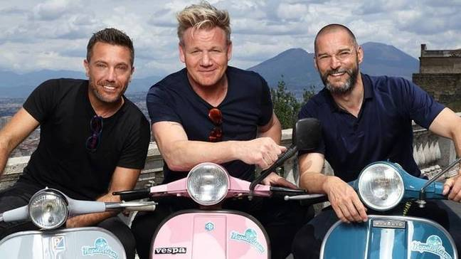 Gordon, Gino and Fred will be heading to Morocco this time around. Credit: ITV