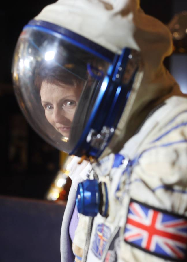 Dr Helen Sharman says aliens exist. Credit: PA