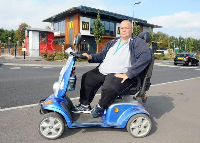 Mr Waite was shocked when staff refused to serve him. Credit: Solent News