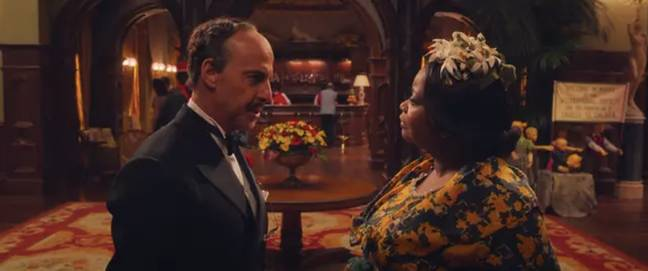 Stanley Tucci and Octavia Spencer. Credit: Warner Bros