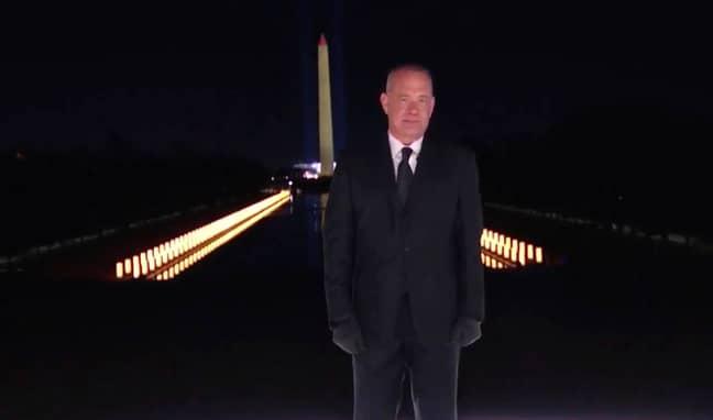 Tom Hanks at Joe Biden's inauguration. Credit: PA