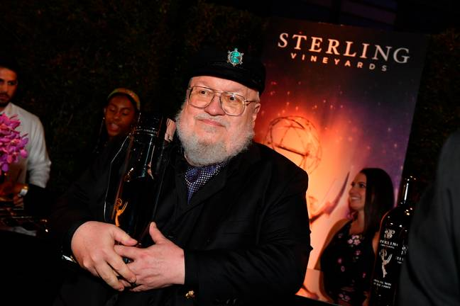 George RR Martin said working on the show could be 'traumatic'. Credit: PA