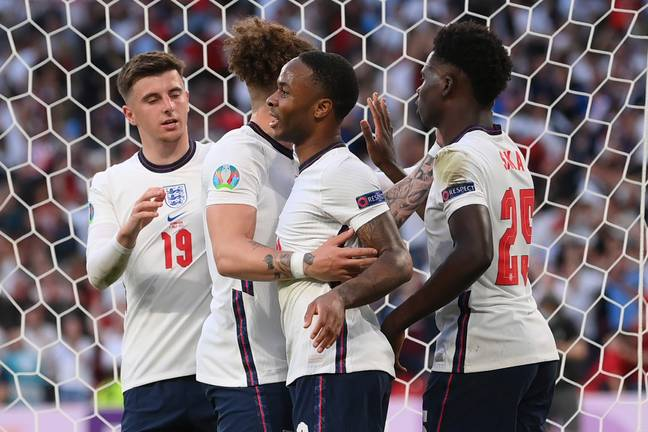 England beat Denmark in the semi-final of Euro 2020. Credit: PA