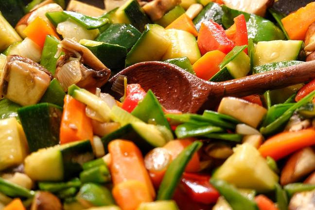 Veggie stir fries are a good way to make sure you are getting as many nutrients as possible. Credit: PA