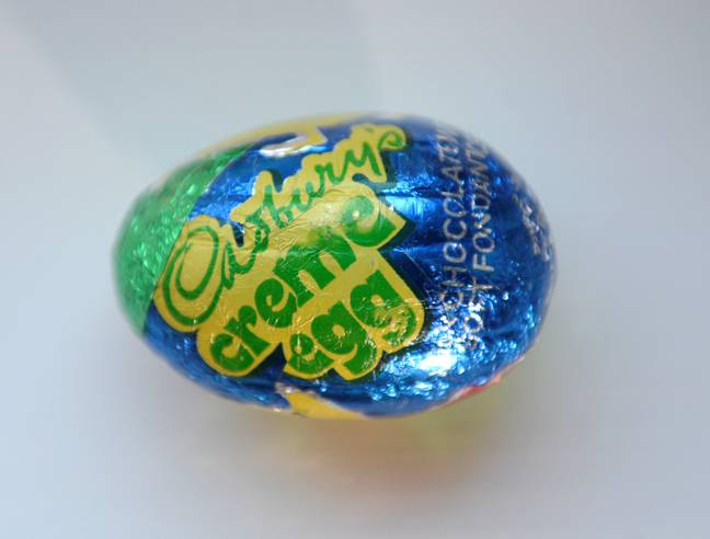 The Creme Egg is from the early 70s. Credit: SWNS