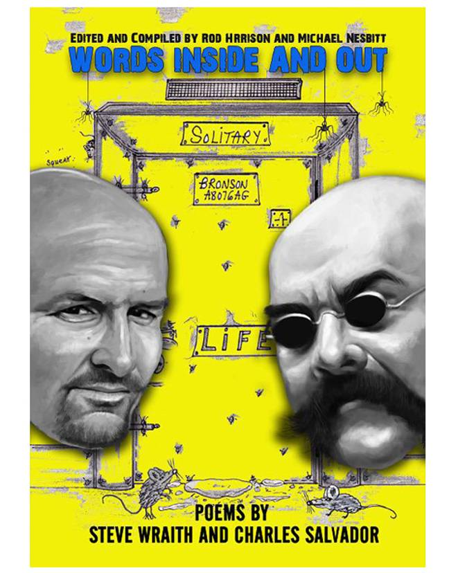 Charles Bronson is publishing a book of poems. Credit: Bad Boys Books