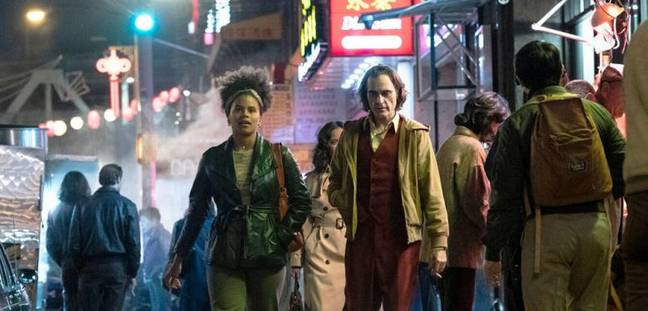 Sophie and Arthur in Joker. Credit: Warner Bros Pictures