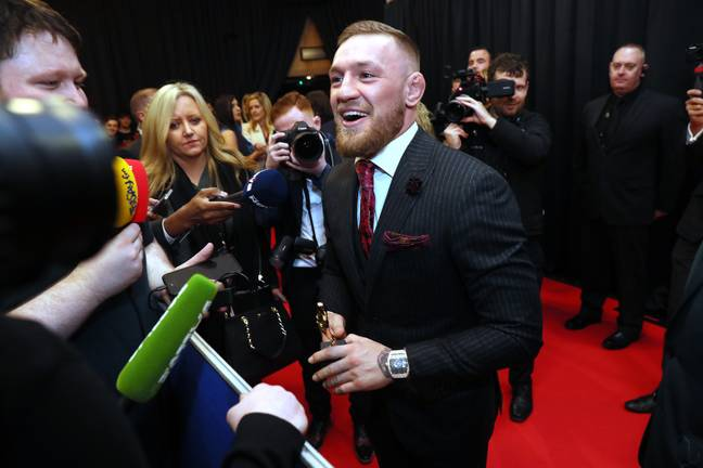McGregor has confirmed his return for 18 January 2020. Credit: PA