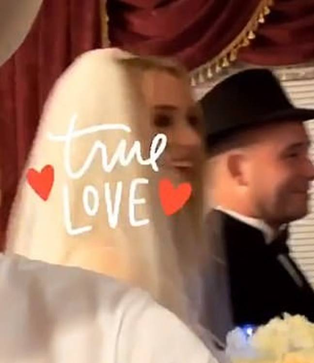 The wedding was in Vegas. Credit: Instagram/Diplo