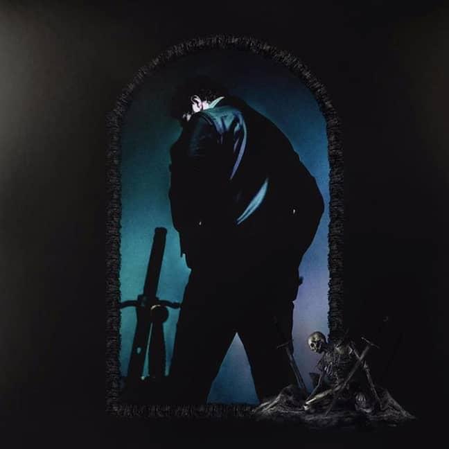 Post Malone Hollywood's Bleeding Album Cover. Credit: Republic Records