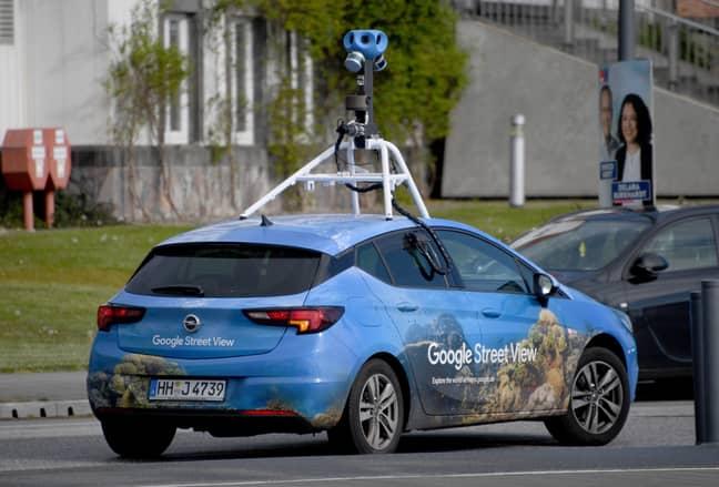 Google Street View car in 2019 (Credit: PA)