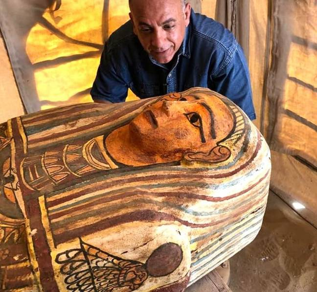 Credit: Egyptian Ministry of Antiquities