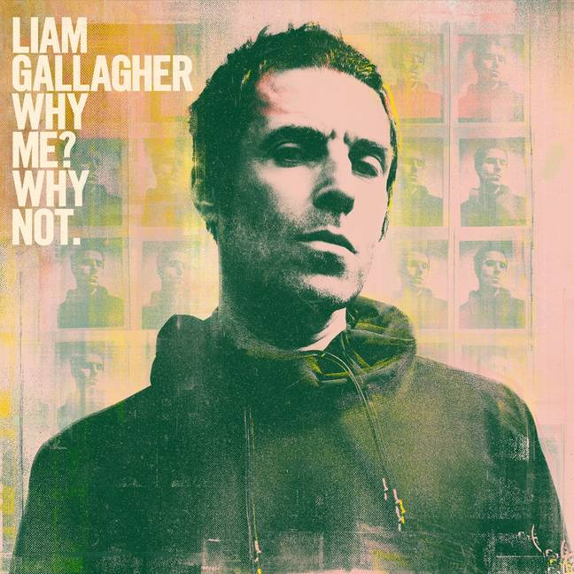 Liam's new album 'Why Me? Why Not.' Credit: Warner Records